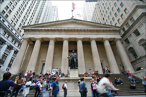 Federal Hall Wall Street by loop_oh