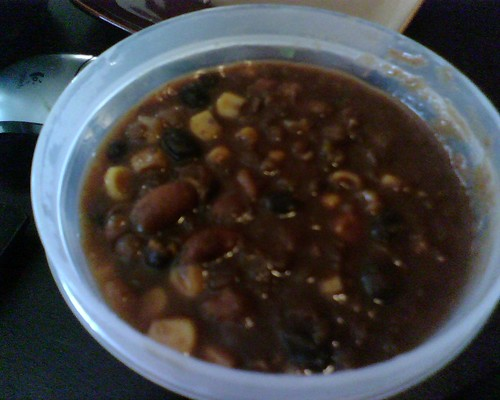 My veggie chilli for lunch today