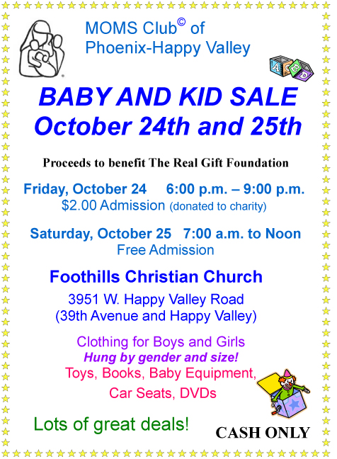 Diane mom group sale flyer fall 2008