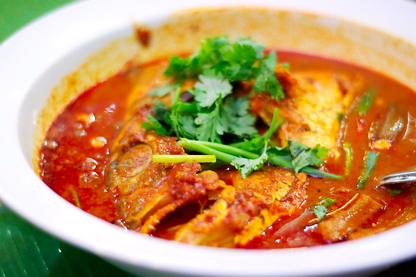 Curry Fish Head from Singapore