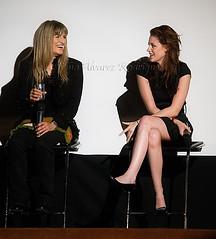 Catherine Hardwicke y Kristen Stewart