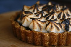 s'mores tart (the boastful baker) Tags: food cooking pie dessert baking chocolate marshmallow smores tart meringue smore piecrust grahamcracker marshmallowfluff chocolatechess