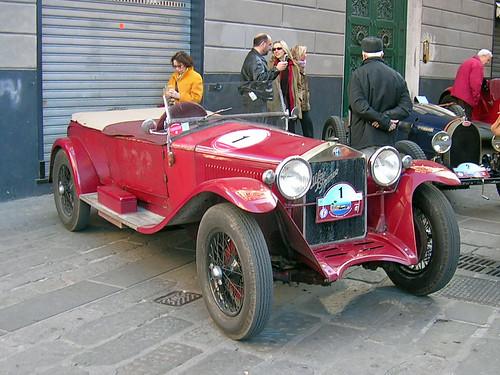Alfa Romeo 6C 1500 S Castagna 1928 - Coppa Milano Sanremo 2007 por Maurizio Boi.