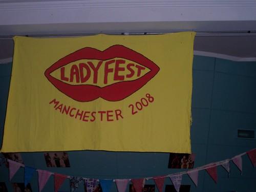 Ladyfest Manchester 2008 Banner