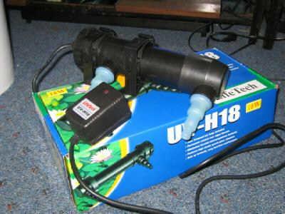 Jebo UV Sterilizer 18w 18 Watt UV-H18 Aquarium or Pond (Clarifier)