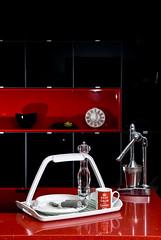 Tray, plate and timer 1 (enabledbydesign) Tags: kitchen contrast design showroom tray timer knifeandfork enabledbydesign assistiveequipment