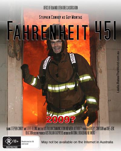 Fahrenheit 451 staring Stephen Conroy