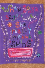 embroidery :  sonya swings (Shosh62) Tags: embroidery