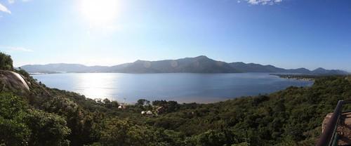 Panorâmica da lagoa / Panorama of the lake