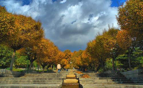 Fall, Niavaran Park, Tehran, Iran