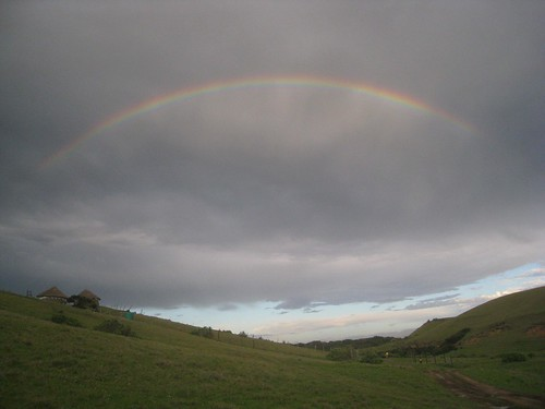 Rainbow over Bulungula