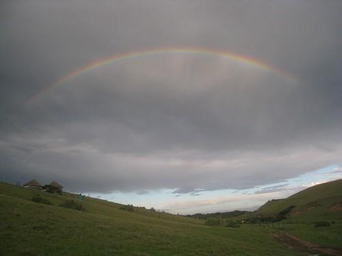Rainbow over Bulungula