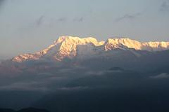 Early Morning Mountains (sherylchan) Tags: nepal mountains sunrise pokhara sarangkot