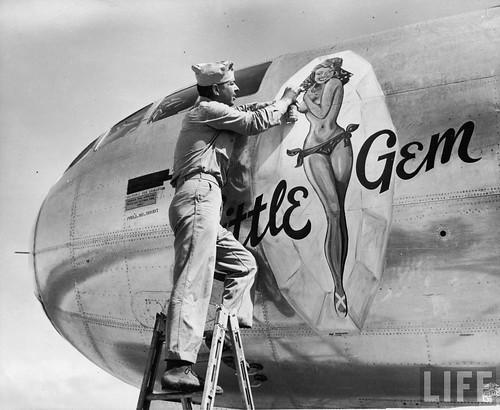 """Warbird picture - B-29 """"Little Gem"""""""