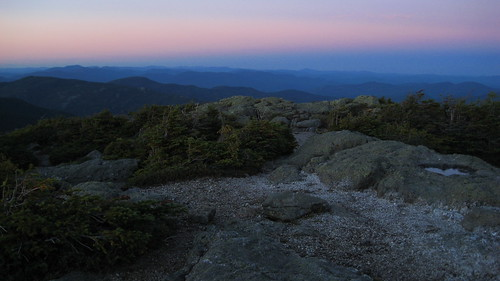 Twilight on Mount Hight