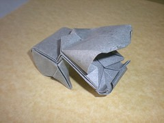 Baby hyppo (Juanfran Carrillo) Tags: origami cartoon paperfolding papiroflexia hyppo