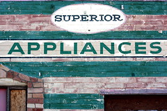 appliance sign