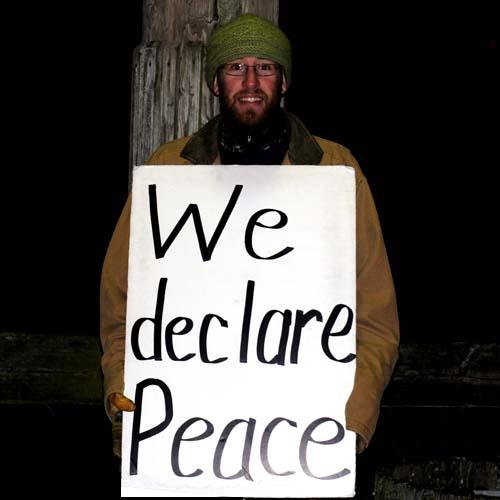 """It's Peace!"""
