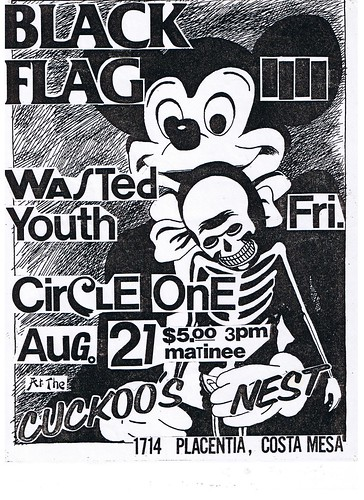 Black Flag at Cuckoos Nest 1981