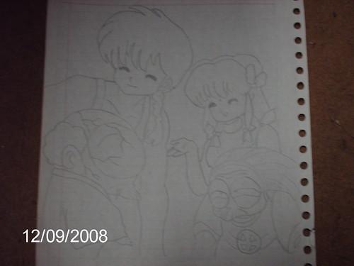 Mis Dibujos de Ranma 1/2 3097136086_651023c37f