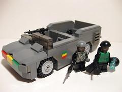 RRAM Ducky with Souljahs (Aaron (-_-)) Tags: army lego military brickarms rram