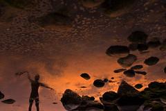 (<sanas>) Tags: sunset sea reflection seaside twilight sundown dusk balticsea rgen reflexion nightfall gloaming mirroring mirrorimaging sianais sanas
