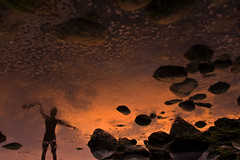 (<sïanaïs>) Tags: sunset sea reflection seaside twilight sundown dusk balticsea rügen reflexion nightfall gloaming mirroring mirrorimaging sianais sïanaïs