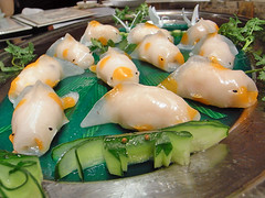 dumpling01 金魚餃(金魚型蒸し餃子)
