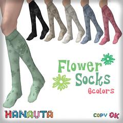 HANAUTA*FlowerSocks