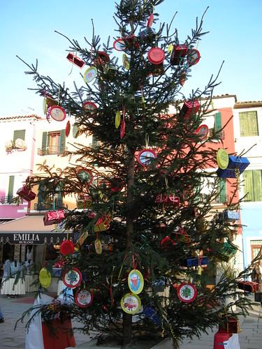 Arbol de navidad Burano