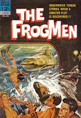 Frogmen Comics (modern_fred) Tags: comics divers underwater scuba adventure un skindiver frogman scubadiver frogmen
