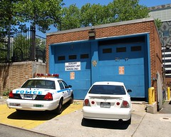 P030s NYPD Police Station Precinct 30 Garage, Hamilton Heights, New York City (jag9889) Tags: county city nyc blue house ny newyork west building car station 30 architecture automobile harlem manhattan hamilton police nypd company transportation vehicle borough heights 2008 department lawenforcement finest precinct sugarhill westharlem hamiltonheights firstresponders newyorkcitypolicedepartment p030 y2008 precinct30 jag9889