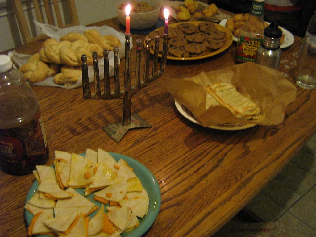 vegan Hanukkah potluck