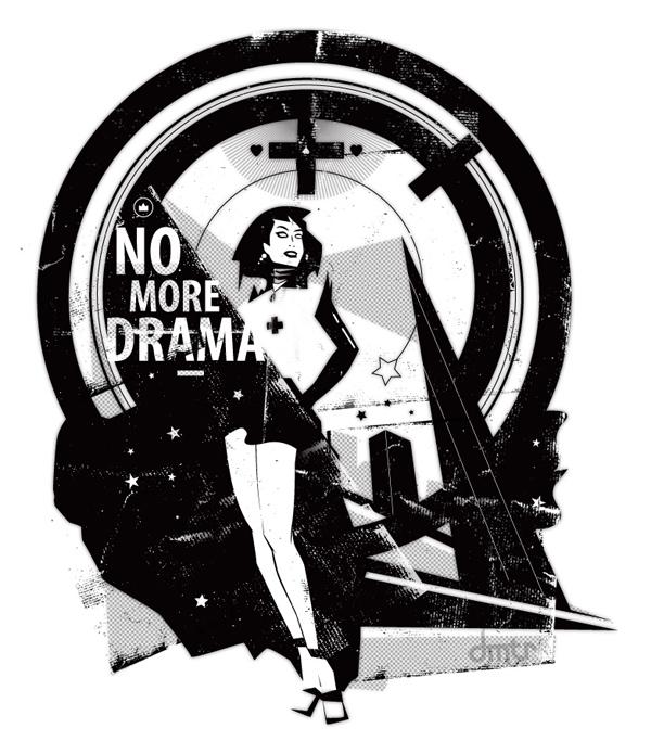 No More Drama 1 иллюстрация левченко дмитрий dmtr