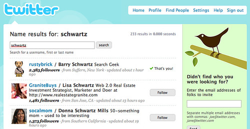 Find Friends On Twitter With Twitter People Search