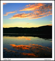 Lochinver Sunset and Reflections (ralph.stewart) Tags: sunset sky clouds canon reflections scotland highlands sutherland reflexions cloudscapes lochinver platinumheartaward mirrorser