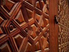 The Gate (Ranoush.) Tags: wood macro gate lock islam egypt cairo christianity coptic islamic copts copticcairo copticmuseum amribnalas