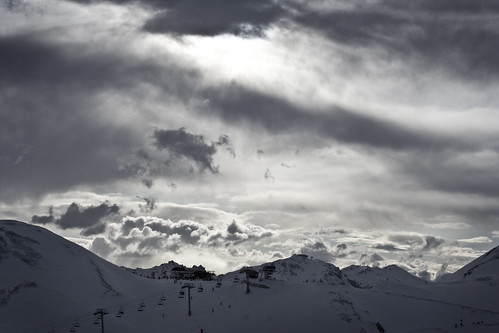 The Clouds over Le Plagne