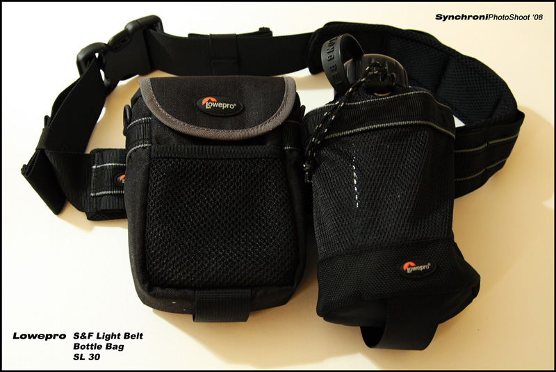 Add on - Lowepro S&F Light Belt, Bottle Bag & SL 30