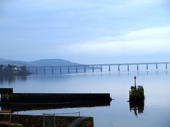 Tay Rail Bridge (B4bees .(2m views)) Tags: river lights scotland harbour tay taybridge fifies olympuse510 excapture qualitypixels brianforbes tayferries couriercountry