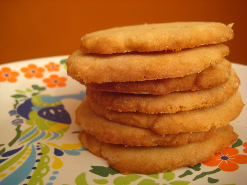 sugar cookie stack