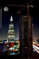 Life Line-s | Years Effect _ Riyadh (YZEED) Tags: new city sky building beautiful skyline architecture night wow amazing cool construction flickr photographer sweet capital dream kingdom pic dreams saudi arabia 2008 powerful riyadh saudiarabia the faisaliah supershot yazeed  alkhulaifi  mamlkah yazeedalkhulaifi