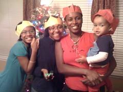 Viola, Cecilia, Stella, and Amani