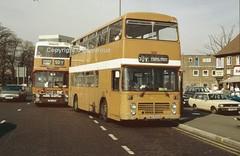 Manchester-Cardiff-Birmingham (Lady Wulfrun) Tags: birmingham cardiff 50 325 smiths maypole 324 tysoe 50y yourbus swo324s 17mar90