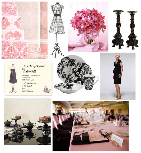 Parisian Pink and Black