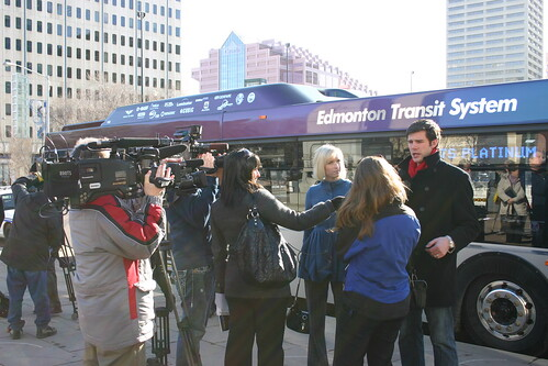 ETS Google Transit Press Event