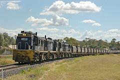 Gunnedah_14-3-09_6913 (&drew) Tags: diesel australia trains newsouthwales locomotive railways alco gunnedah pacificnational grainhaulage nsw48class