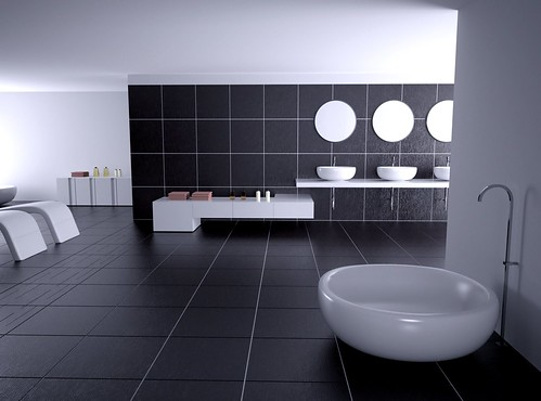 A Nice Bathroom Render Indigo Renderer