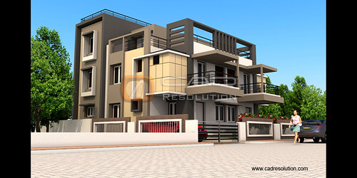 Exterior Building Design flickriver: 3d exterior rendering models - exterior design pool