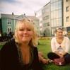 Hofi (Hilla pilla) Tags: summer 120 film girl holga mm 2009 sumar austurvöllur hófí